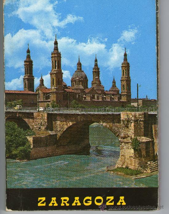 BONITO LIBRO DE POSTALES DE ZARAGOZA 10 POSTALES - LOTE- (Postales - España - Aragón Moderna (desde 1.940))