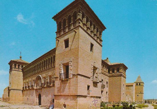 ALCAÑIZ, CASTILLO DE LOS CALATRAVOS (Postales - España - Aragón Moderna (desde 1.940))