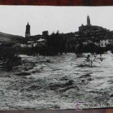 Postais: ANTIGUA FOTO POSTAL DE ATECA - ZARAGOZA - INUNDACIONES - FOTO LAZARO - NO CIRCULADA.. Lote 27806770