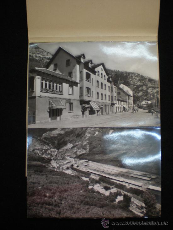 Postales: Tarjetas Postales. Canfranc (Huesca). Lote desplegable Completo. 10 Postales. Años 60. - Foto 2 - 27838588