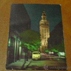 Postales: POSTAL .GIRALDA DE NOCHE) SEVILLA -ANDALUCIA -AÑO 1.965 - SIN ESCRIBIR-. Lote 27870369