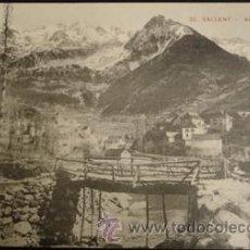 Postales: SALLENT DE GALLEGO - Nº20 VISTA GENERAL . Lote 27932710