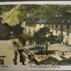 Postales: BALNEARIO DE PANTICOSA - HOTELES EMBAJADORES Y MEDIODIA . Lote 27933850