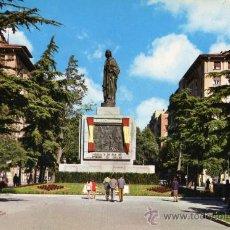 Postales: ZARAGOZA 2179 PLAZA DE SAN FRANCISCO MONUMENTO A FERNANDO EL CATÓLICO ED. ARRIBAS ESCRITA SIN CIRCUL. Lote 27965340