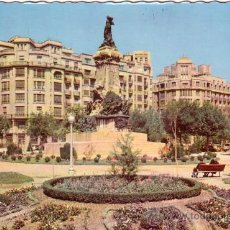 Postales: ZARAGOZA - MONUMENTO A LOS SITIOS - G. GARRABELLA. Lote 28049951