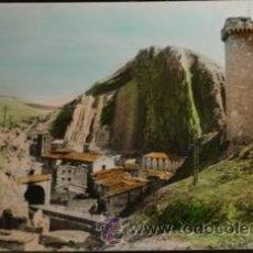 Postales: ALHAMA DE ARAGON - CASTILLO UN DETALLE DEL PUEBLO. Lote 28181602