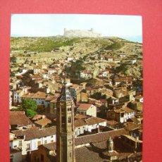 Postales: CALATAYUD - TORRE MUDÉJAR DE SAN ANDRÉS Y CASTILLO AYUD. Lote 28300898