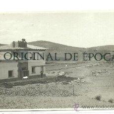 Postales: (PS-23661)POSTAL FOTOGRAFICA DE ENCINACORBA(ZARAGOZA)-CONSTRUCCION ESTACION DE FERROCARRIL. Lote 28341155