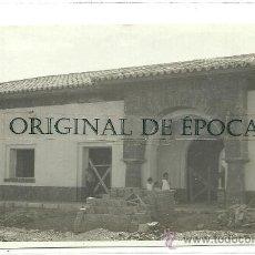 Postales: (PS-23660)POSTAL FOTOGRAFICA DE ENCINACORBA(ZARAGOZA)-CONSTRUCCION ESTACION DE FERROCARRIL. Lote 28341165