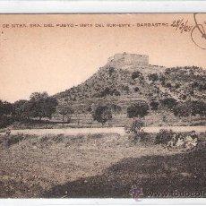 Postales: BARBASTRO - SANTUARIO DE NTRA. SRA. DEL PUEYO -VISTA DEL SURESTE- (7833). Lote 28351745