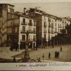 Postales: TERUEL Nº4 PLAZA DEL TORICO . Lote 28371162