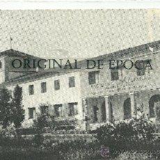 Postales: (PS-23833)POSTAL DE MONZON(HUESCA)-ESCUELAS SALESIANAS SANTO DOMINGO SAVIO. Lote 28436770