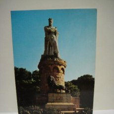 Postales: ZARAGOZA MONUMENTO AL BATALLADOR ESCRITAEDICIONES PROCESO. Lote 28449725