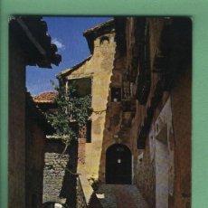 Postales: POSTAL ALBARRACIN. RINCÓN TÍPICO Y PORTAL DE MOLINA.EDICIONES SICILIA.NUEVA.. Lote 28624397