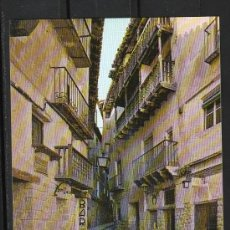Postales: Nº 10 ALBARRACIN. TIPICA CALLE DEL PORTAL DE MOLINA (MONUMENTO NACIONAL). Lote 28628591