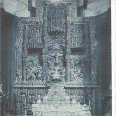 Postales: HUESCA CATEDRAL ALTAR MAYOR. Lote 28796806