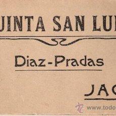 Postales: JACA- QUINTA SAN LURE- DIAZ-PRADAS - BLOCK COMPLETO 12 POST. VER FOTOS ADICIONALES- ( B- 58). Lote 28955760