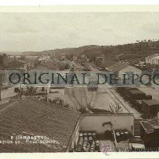 Postales: (PS-24485)POSTAL FOTOGRAFICA DE HUESCA-ESTACION DEL FERROCARRIL. Lote 28967719