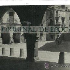 Postales: (PS-25217)POSTAL DE CALACEITE(TERUEL)-PLAZA MAYOR. Lote 29162542
