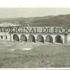 Postales: (PS-25287)POSTAL FOTOGRAFICA DE ENCINACORBA(ZARAGOZA)-CONSTRUCCION DE LA ESTACION DE FERROCARRIL. Lote 29289132