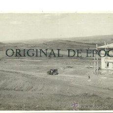 Postales: (PS-25288)POSTAL FOTOGRAFICA DE ENCINACORBA(ZARAGOZA)-CONSTRUCCION DE LA ESTACION DE FERROCARRIL. Lote 29289137