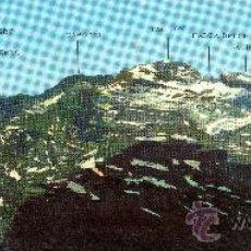 Postales: PANORÁMICA (57X10CM) PARQUE NACIONAL DE ORDESA, PIRINEOS CENTRALES Y MACIZO DE LAS TRES SORORES. Lote 29462267