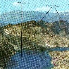 Postales: PANORÁMICA (28X10CM) PIRINEO ARAGONÉS, BENASQUE, COLLADO MALDITO. Lote 29462446