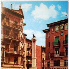 Postales - TERUEL. PLAZA DE CARLOS CASTEL. TORICO. - 29513284