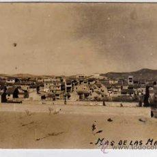 Postales: MAS DE LAS MATAS. TERUEL. CARMELO MATEU. SIN CIRCULAR. ACABADO FOTOGRÁFICO.. Lote 29596883
