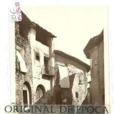 Postales: (PS-25688)POSTAL FOTOGRAFICA DE ALQUEZAR(HUESCA)-UNA CALLE TIPICA. Lote 29661916