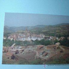 Postales: POSTAL ARCOS DE LAS SALINAS. TERUEL. PUEBLO DE ARAGÓN.. Lote 29800871