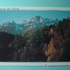 Postales: POSTAL VALLE DE TENA EN OTOÑO. SIN CIRCULAR. PIRINEO ARAGONÉS. HUESCA. ARAGÓN. Lote 29801280