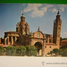 Postales: TARAZONA FACHADA DE LA CATEDRAL EDI. SICILIA. Lote 30149052