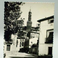 Postales: POSTAL ATECA CALLE GARCÉS DE MARCILLA IGLESIA SANTA MARÍA ED DARVI AÑOS 50 SIN CIRCULAR. Lote 30209273