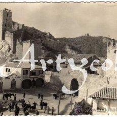 Postales: BONITA POSTAL - DAROCA (ZARAGOZA) - PUERTA ALTAR Y TORREONES - AMBIENTADA . Lote 30280410
