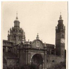 Postales: POSTAL DE TARAZONA (ZARAGOZA) - FACHADA PRINCIPAL DE LA CATEDRAL. Lote 30294357