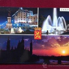 Postales: POSTAL DE ZARAGOZA - BELLEZAS DE LA CIUDAD , ED GARCIA CARRABELLA Nº 68 , AÑOS 70. Lote 30380213