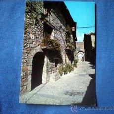 Postales: POSTAL HUESCA L'AINSA AINSA CONJUNTO HISTORICO PORTAL CALLE MAYOR NO CIRCULADA. Lote 30443738