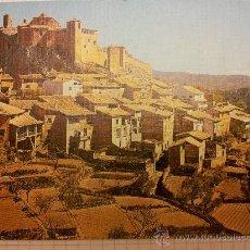 Postales: POSTAL ALQUEZAR - HUESCA - PANORAMICA Y COLEGIATA - ED SICILIA. Lote 30458432