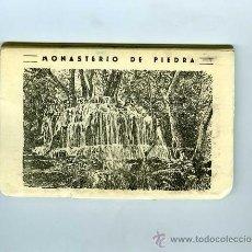 Postales: TIRA 10 POSTALES MONASTERIO DE PIEDRA GARCIA GARRABELLA. Lote 30537538