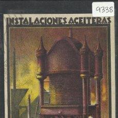 Postales: ZARAGOZA - PUBLICITARIA INSTALACIONES ACEITERAS -MAQUINARIAS Y FUNDICIONES DEL EBRO S.A. - (9338). Lote 30709315