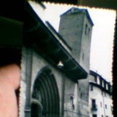 Postales: POSTAL CALATAYUD TORRE INCLINADA SAN PEDRO DE LOS FLANCOS ZARAGOZA AÑOS 50 SELLOS 35 CTS(B24). Lote 30770897
