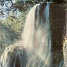 Postales: POSTAL A COLOR 804 MONASTERIO DE PIEDRA ZARAGOZA CASCADA TRINIDAD ESCRITA 1962 GARCIA GARRABELLA. Lote 30750016