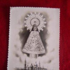 Postales: POSTAL-NUESTRA SEÑORA DEL PILAR(ESCRITA 15-10-47). Lote 30779882