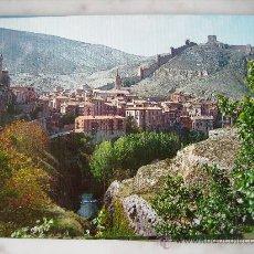 Postales: ALBARRACIN,TERUEL.VISTA PANORAMICA Y RIO GUADALAVIAR.EDI.SICILIA 64.. Lote 30973995