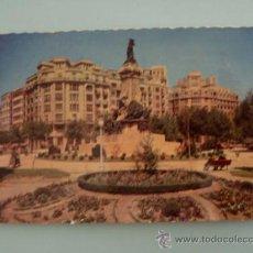 Postales: POSTAL; ZARAGOZA , MONUMENTO A LOS SITIOS, ESCRITA SIN SELLO, AÑO 1968. Lote 31241781