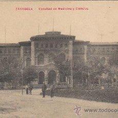 Postales: ZARAGOZA, FACULTAD DE MEDICINA Y CIENCIAS. Lote 31418627