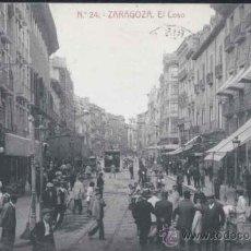 Postales: ZARAGOZA.- EL COSO. Lote 31523586