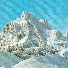 Postales: CANFRANC-CANDANCHU, PICO ASPE. Lote 31529855