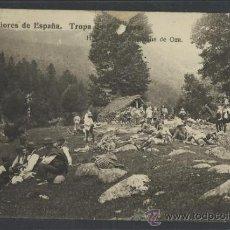 Postales: HECHO - EXPLORADORES TROPA DE ZARAGOZA EN EL BOSQUE DE OZA -FOTOGRAFICA - (10.147). Lote 31763732